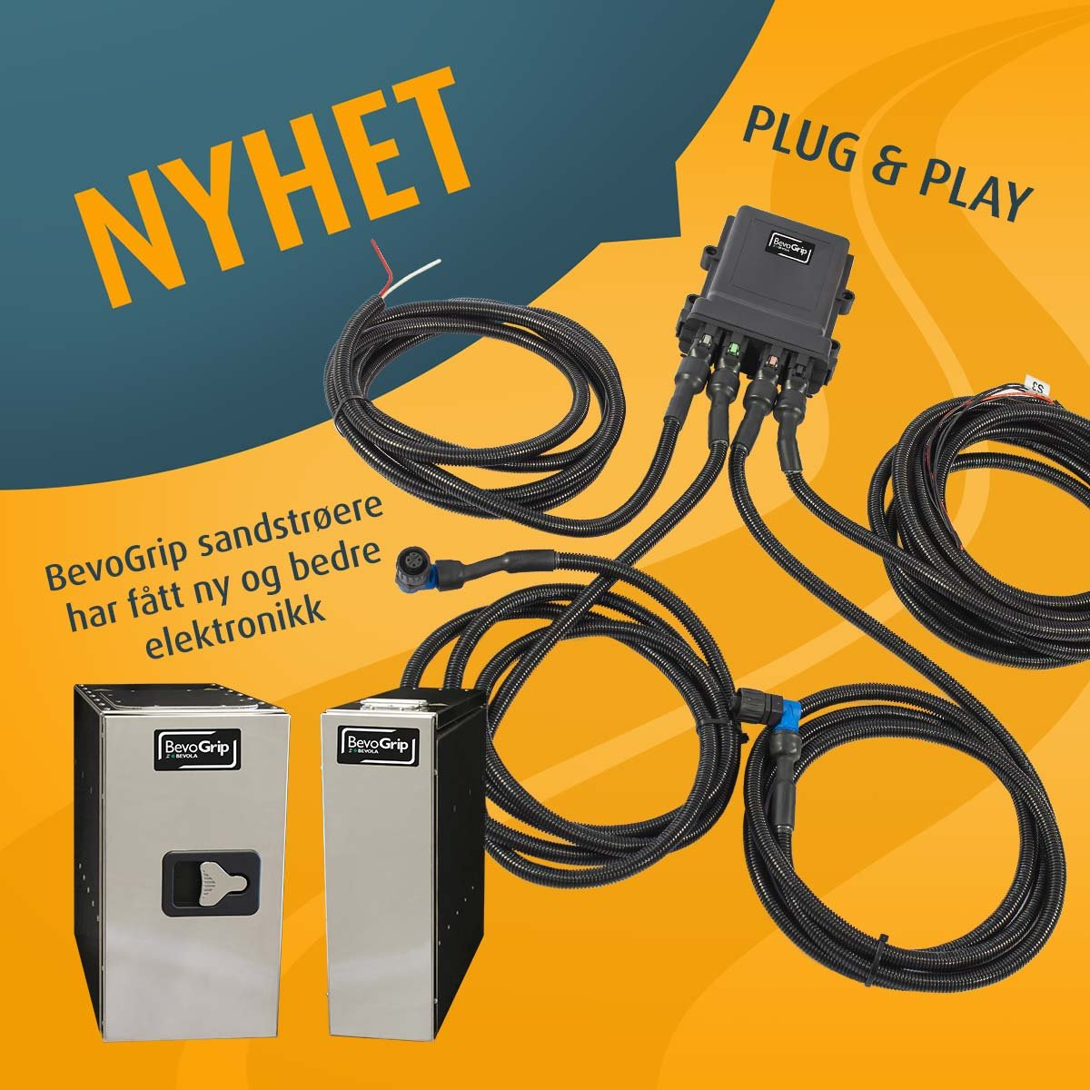Ny Plug and play elektronikk